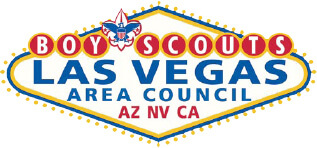 logo for the boy scouts las vegas area council of Arizona, Nevada and California