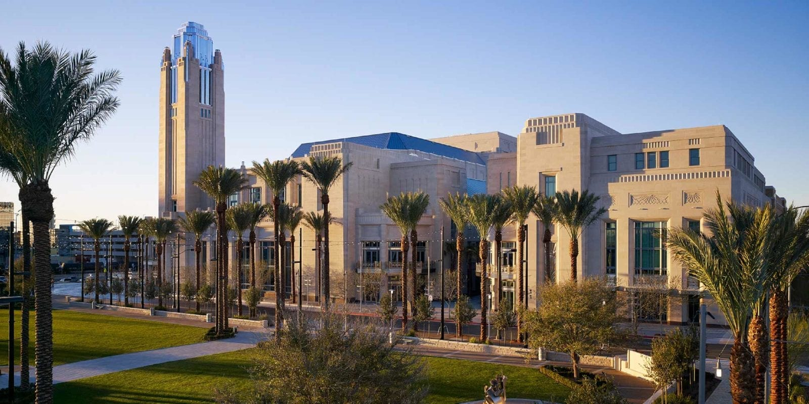 street view of the smith center for performing arts in las vegas