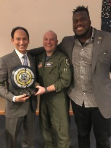 financial advisor honored at nellis afb