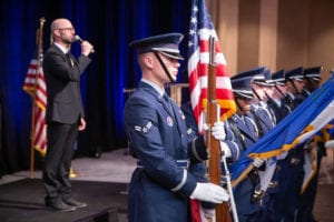 The Nellis Air Force Base Honor Guard