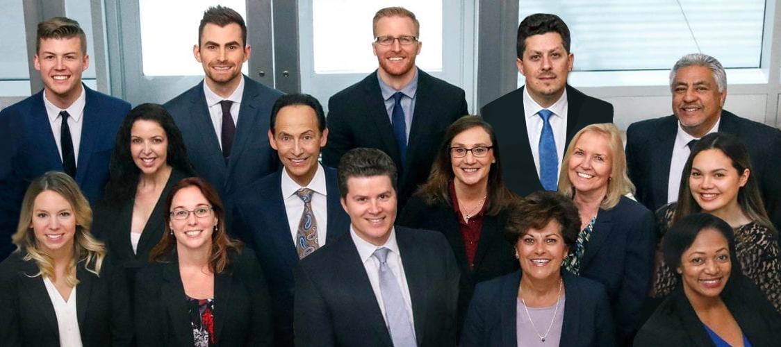The investment counsel company team group photo